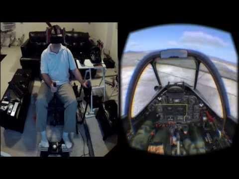 DCS Huey on the Oculus Rift DK2 / Max Flight Stick