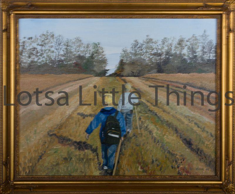 $200 by Ken Blaze oil on canvas