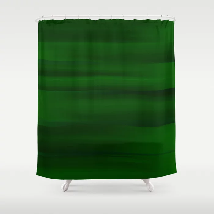 Emerald Green And Black Abstract Shower Curtain By Abstractcolor Society6 Abstract Shower Curtain Green Shower Curtains Black Abstract
