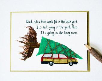 Discover The Best And Most Beautiful Products On Etsy Christmas Vacation Card National Lampoons Christmas Vacation Funny Christmas Tree