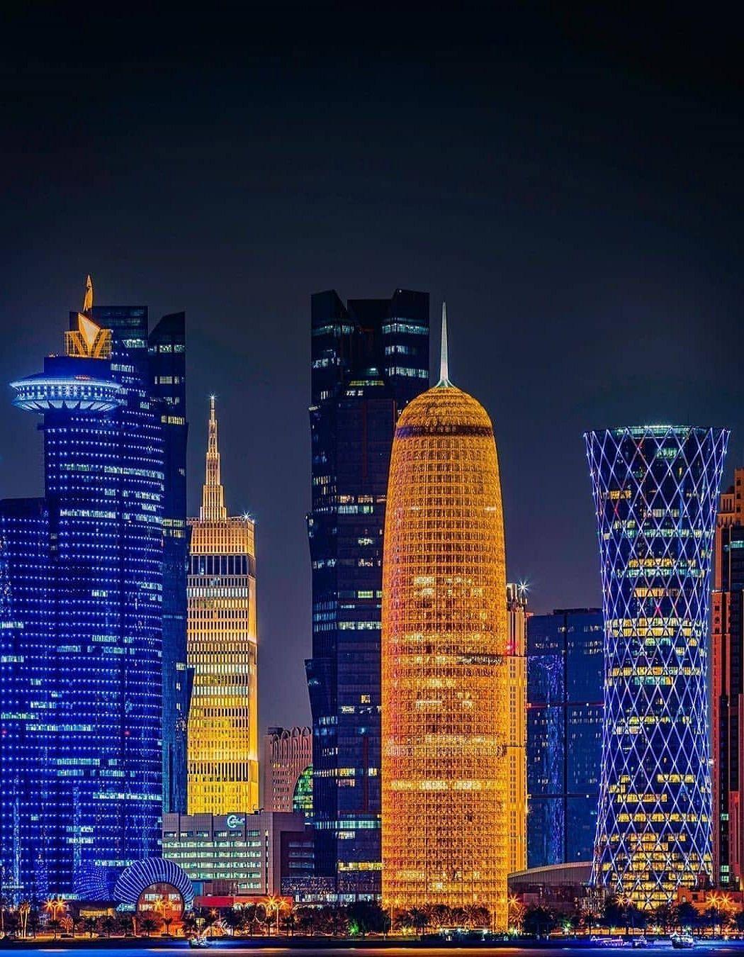Night Of Doha Qatar