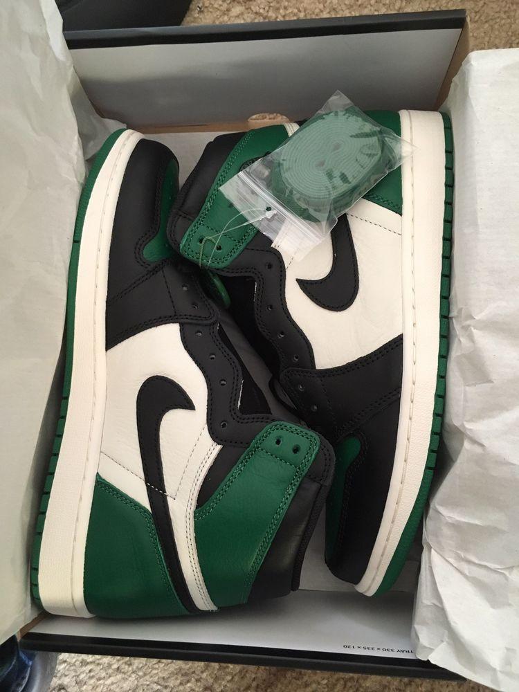 Nike Air Jordan 1 Retro High PINE GREEN Size 11  fashion  clothing  shoes 585019393