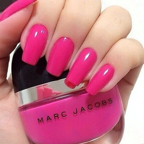 Nail color and shape goals