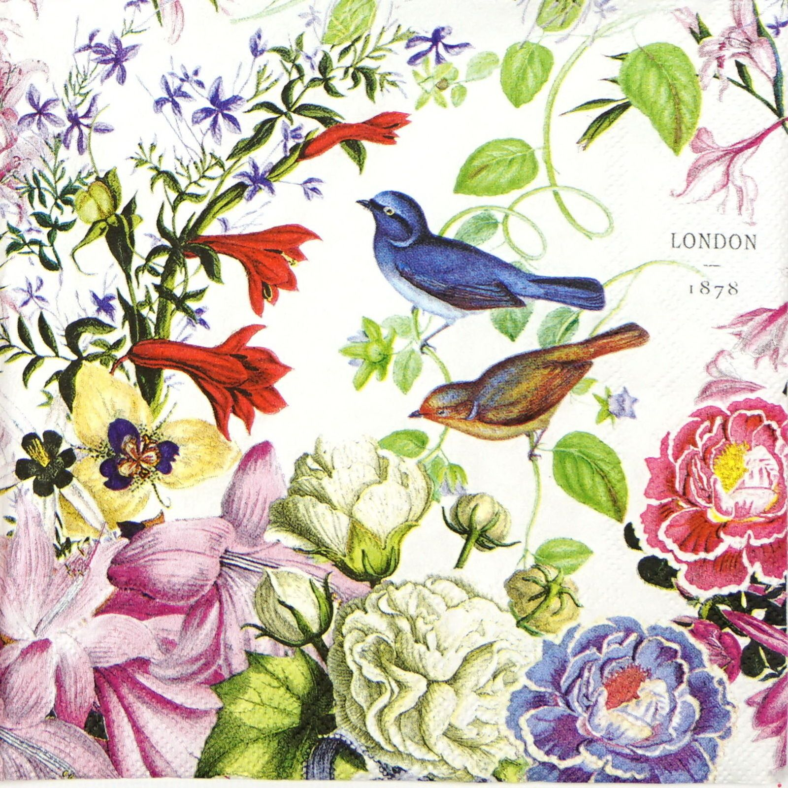 4x Paper Napkins for Decoupage Decopatch Craft Like in Paradise