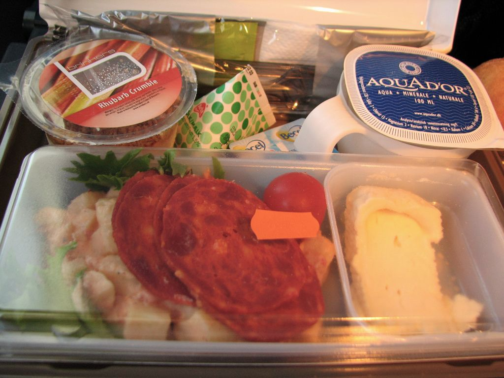 Scandinavian Airlines Economy Extra Airline Food Food Plus Food
