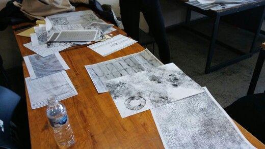 타이포오전반 연시팀 작업
