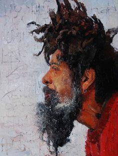 Adebanji Alade ROI, 1972   Figurative / Cityscape painter   Tutt'Art@   Pittura * Scultura * Poesia * Musica  