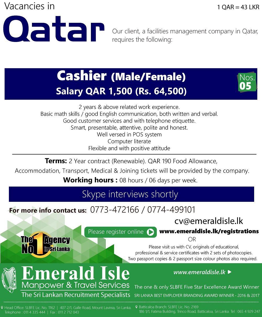 Emerald Isle Recruitment Specialist Basic math skills