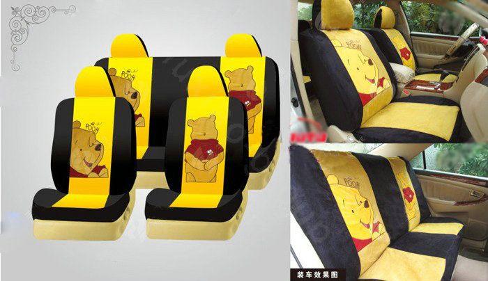 Car Seat Covers Seats Winnie The Pooh Friends Disney