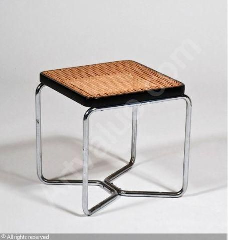 marcel breuer hocker stool pinterest m bel aus. Black Bedroom Furniture Sets. Home Design Ideas