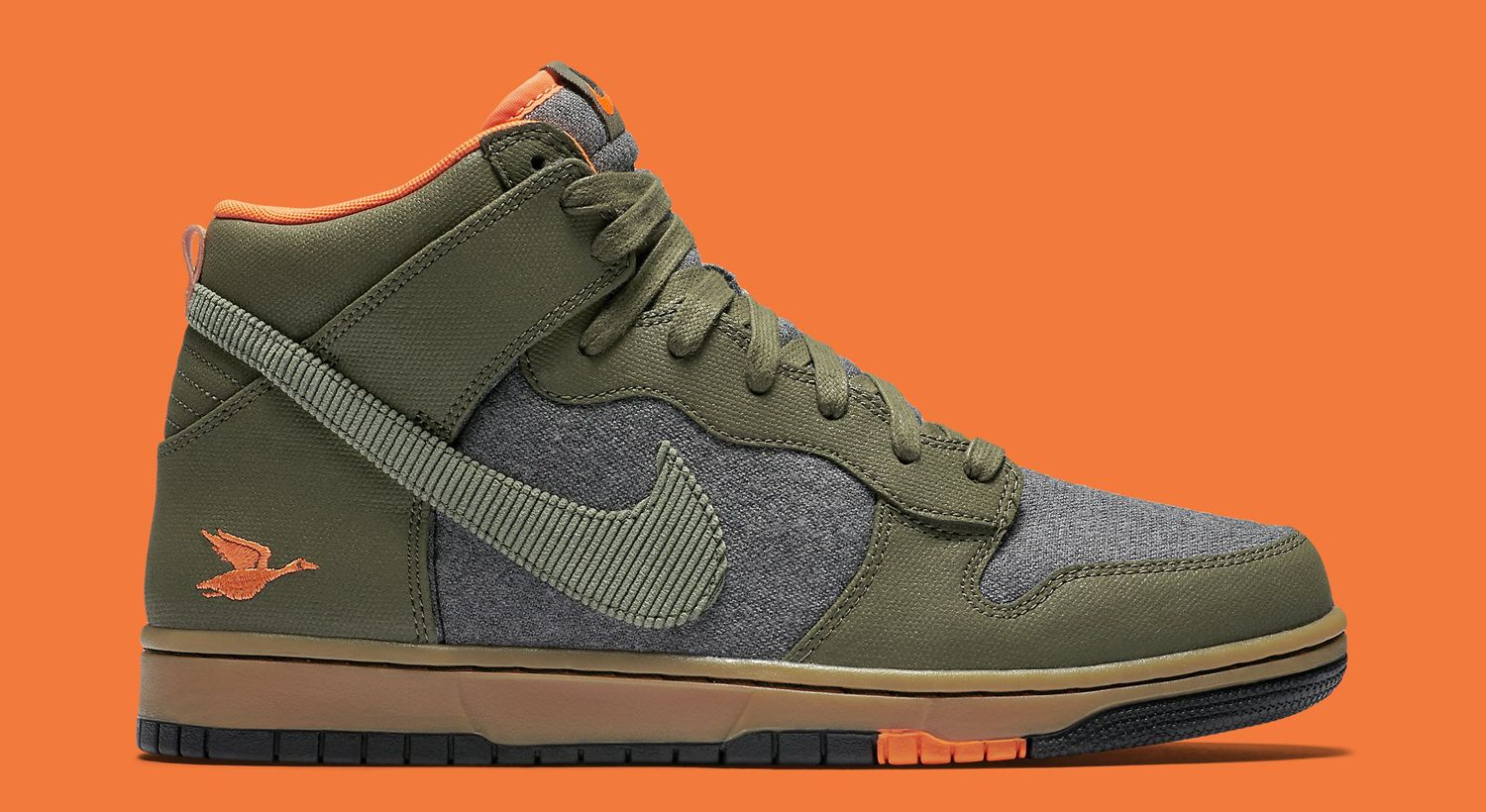 sports shoes 0a3d6 1ea1e Nike Dunk High Swoosh Social Club Duck Hunt   Sole Collector
