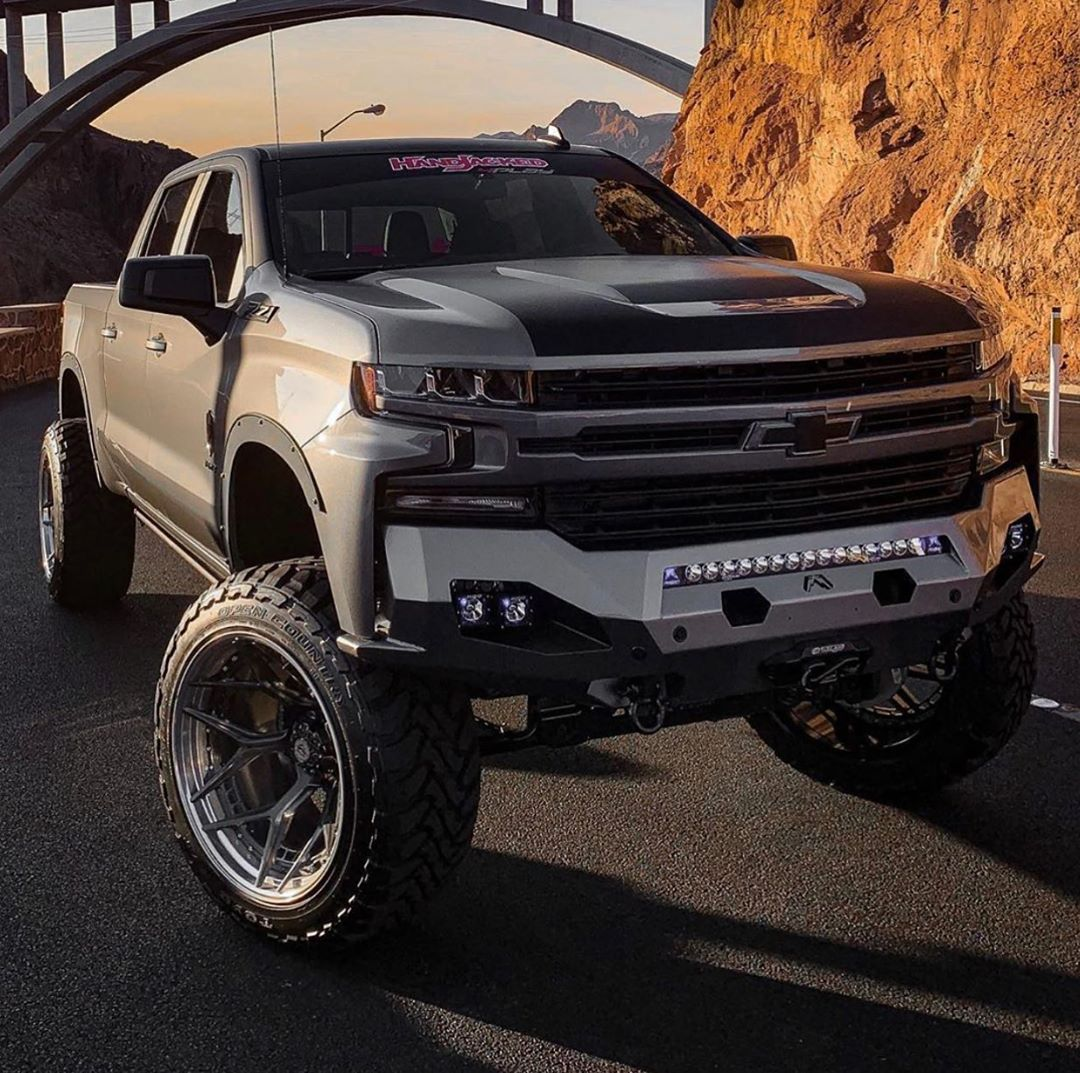 4play Wheels On Instagram The 2020 Silverado Rst Punisher