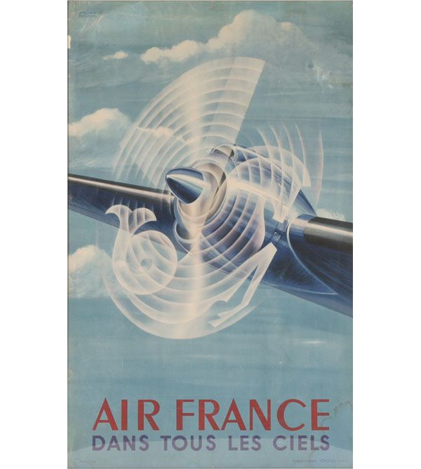 Pin by Hunter Fiers on Prints design Pinterest Air france - new air france world map flight routes c.1948
