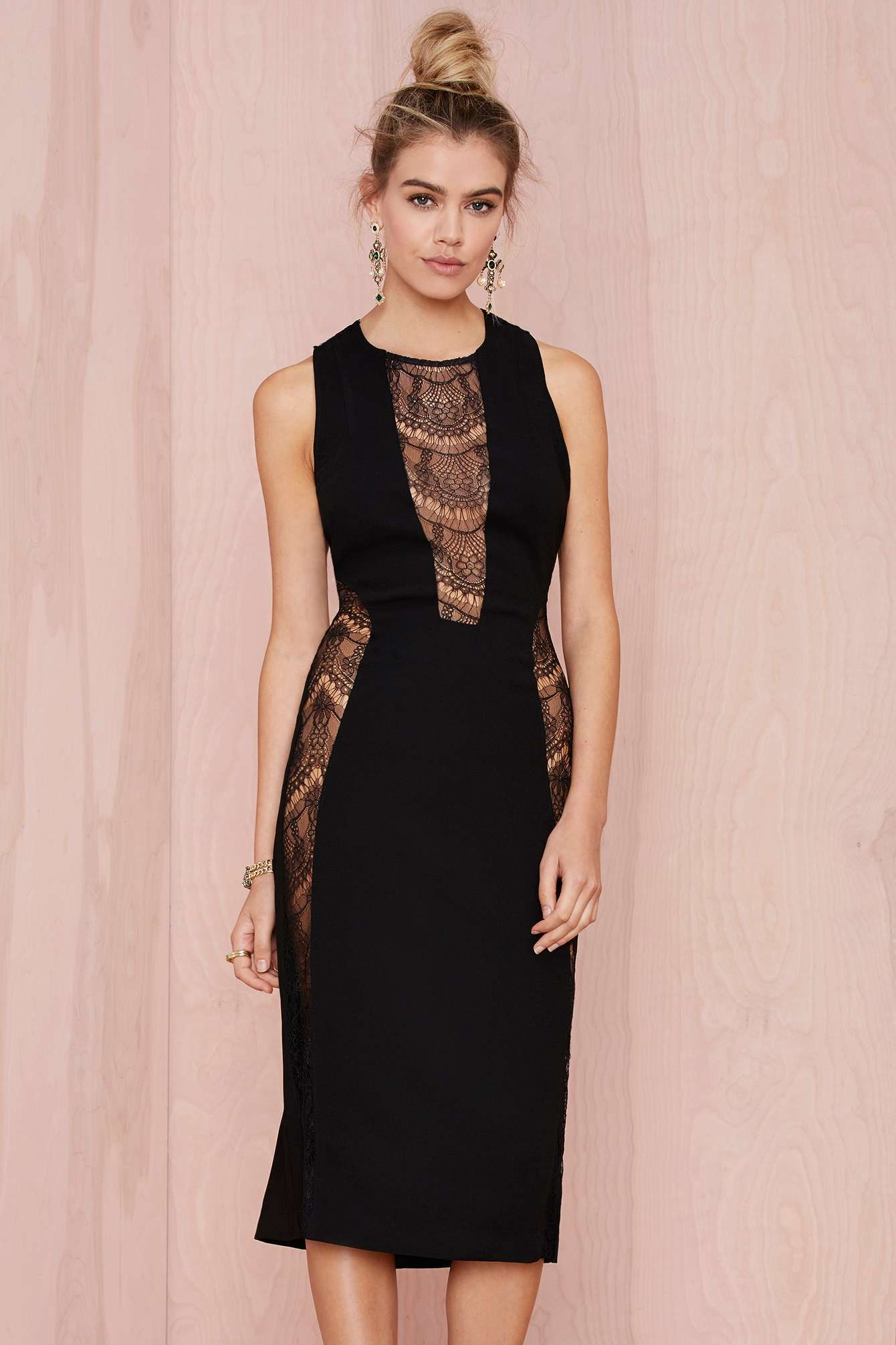 Nasty Gal Laney Lace Cutout Dress | Shop Clothes at Nasty Gal ...