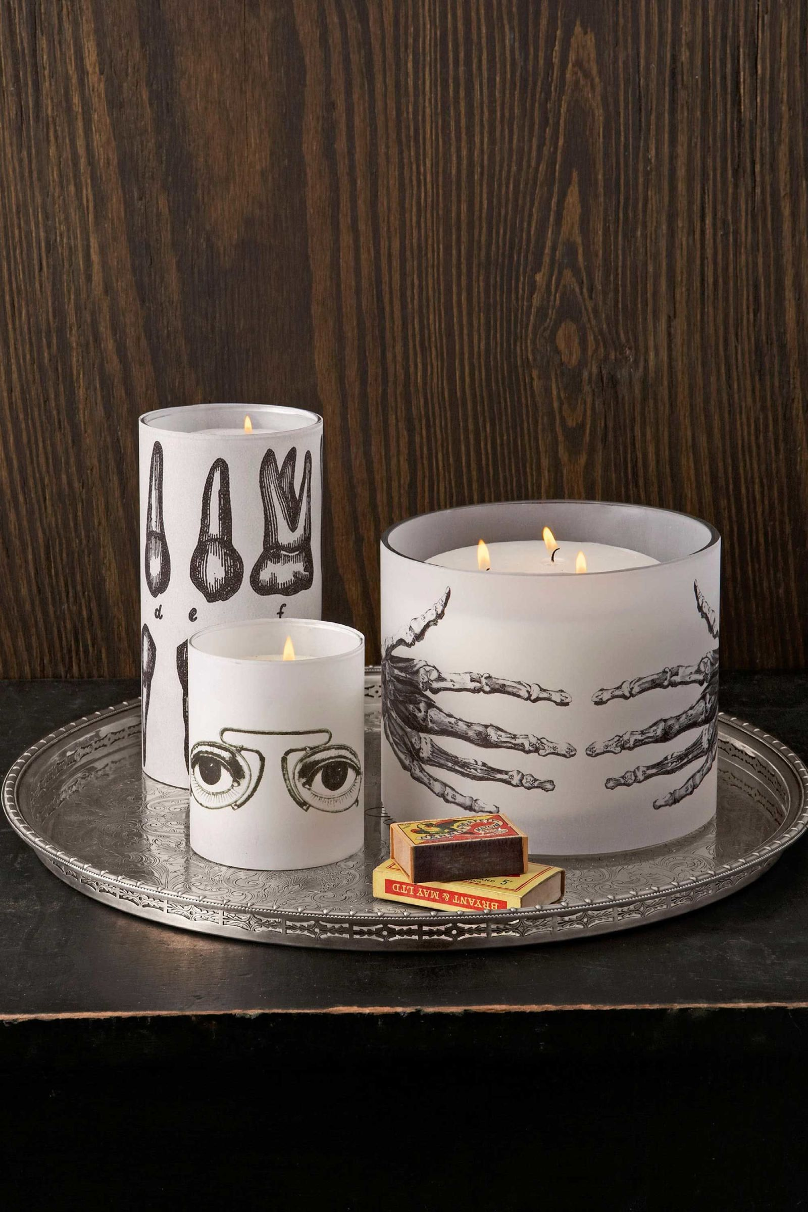 A Truly Creepy Candle to Make this Halloween Craft, Halloween - cool homemade halloween decorations