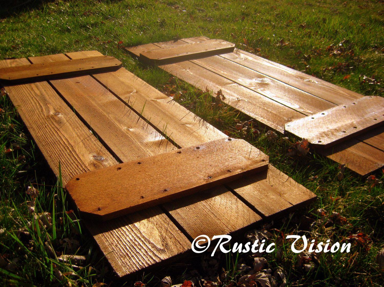 Best 25 Cedar Shutters Ideas On Pinterest Wood Shutters