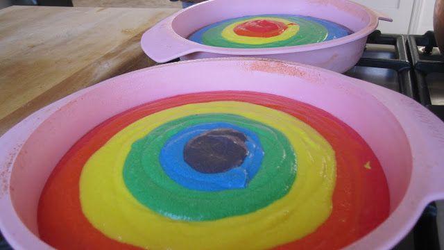 siriously delicious: Rainbow Cake