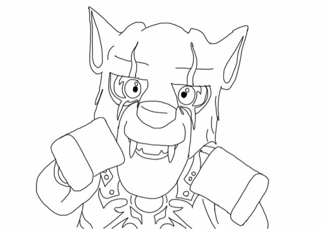 Lego Chima Coloring Pages collection   Pro wolves   Pinterest   Lego ...