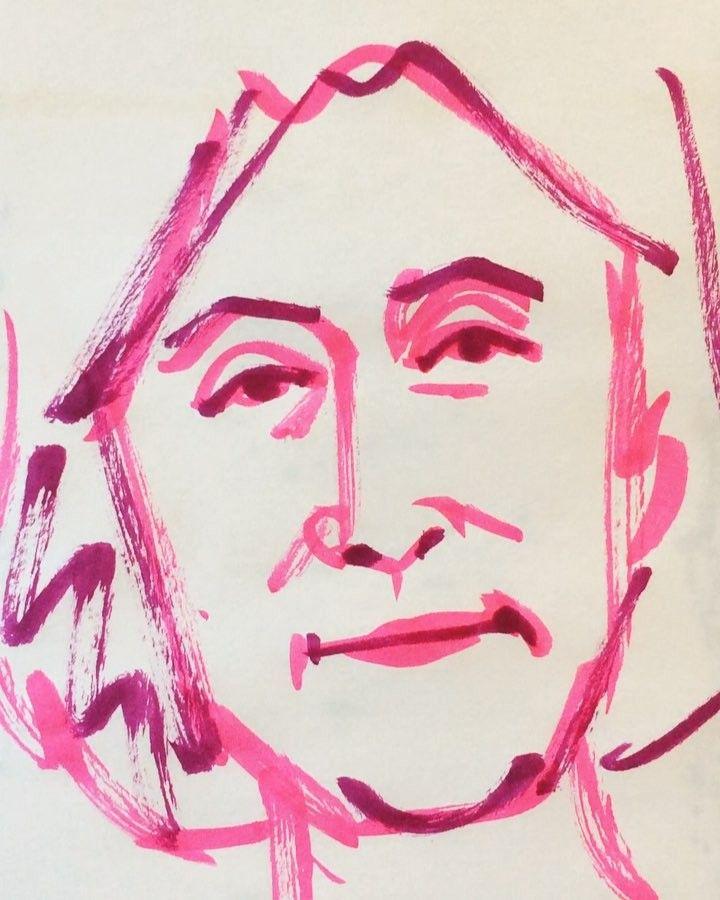 いいね!18件、コメント3件 ― @1mindrawのInstagramアカウント: 「#1mindraw #一分描画 #takahataatsuko #高畑淳子 #actress #女優 #19541011 #birthday #誕生日 #portrait #似顔絵…」
