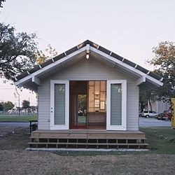 a rice building workshop project extra small house 500 sq ft modern shotgun house built by rice university students for 25000 to serve as prototype - Picture Of Small House