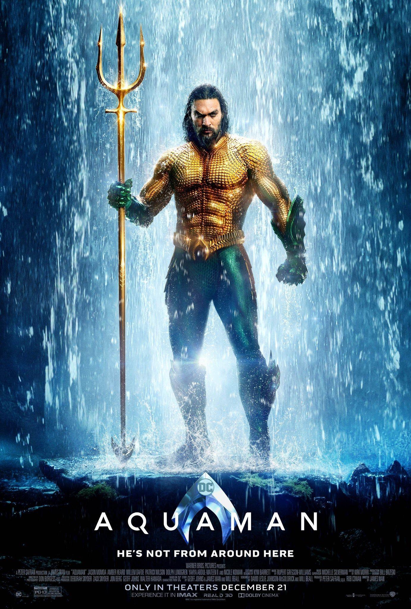 Aquaman Filme Aquaman Aquaman Jason Momoa Aquaman