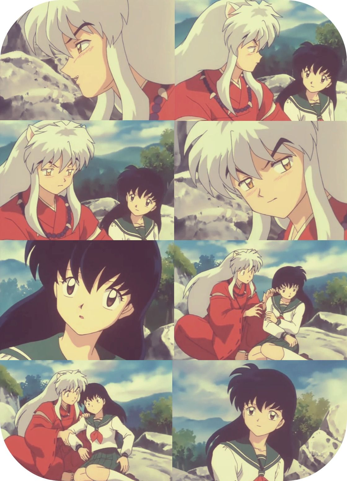 This Was A Really Cute Moment Inuyasha Anime Pregnant
