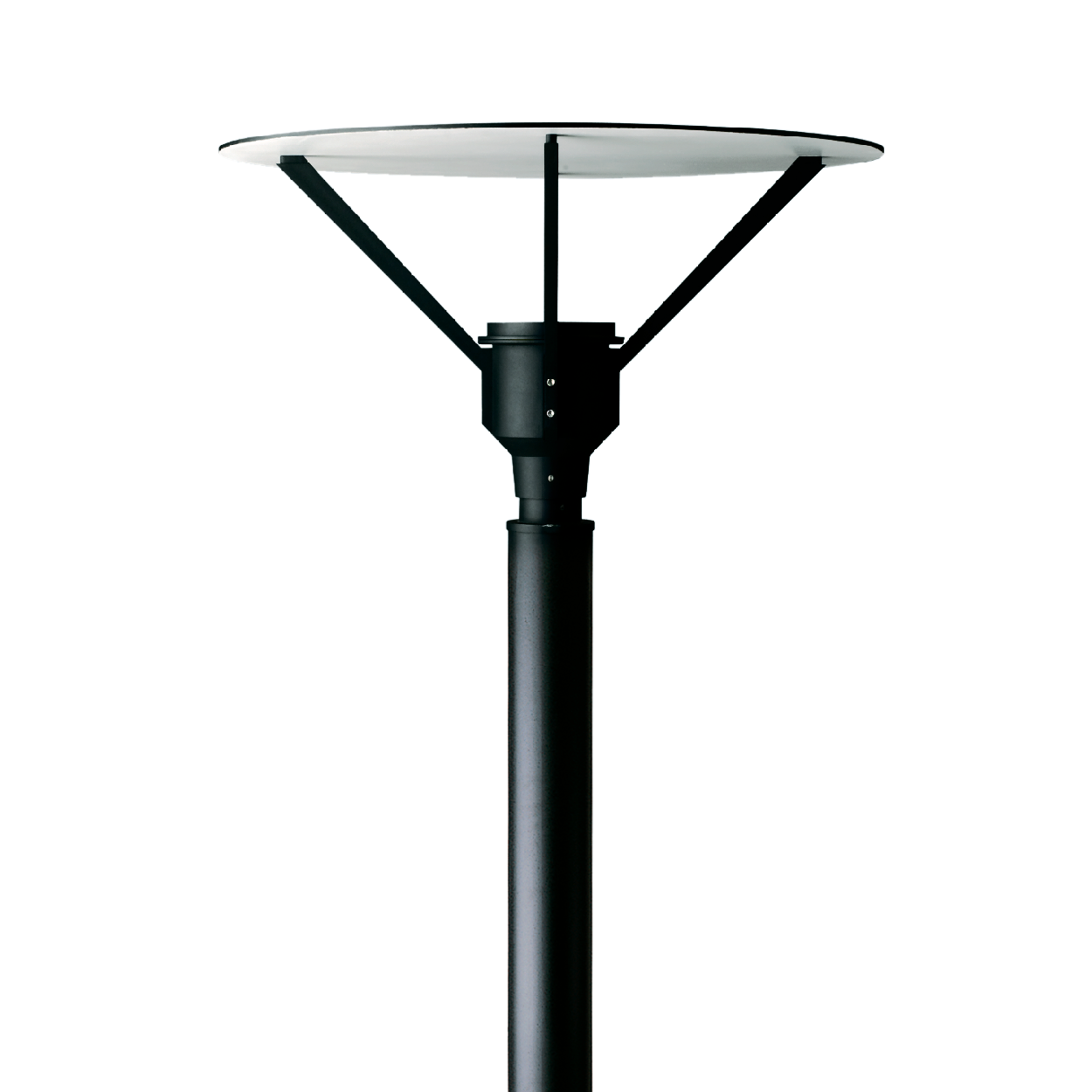 Syndy Post Top Led W27 W30 W40 Round Or Square Reflector Custom Heights Up To 1871 Lumens Urban Lighting Post Lights Led Lights