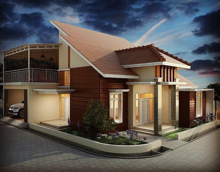 Model Rumah Minimalis Sederhana 1 Lantai Tampak Depan ...