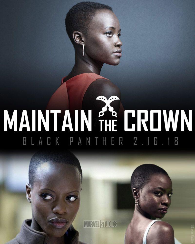 Maintain the Crown: #DoraMilaje #Nakia, #Okoye, #Ayo #BlackPanther #MarvelStudios