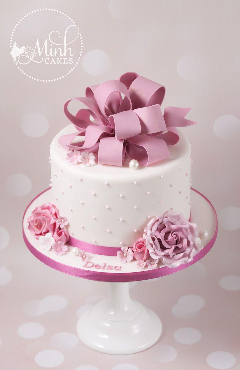 Minh Cakes Madchen Geburtstagstorte Delsa Kuchen Torten