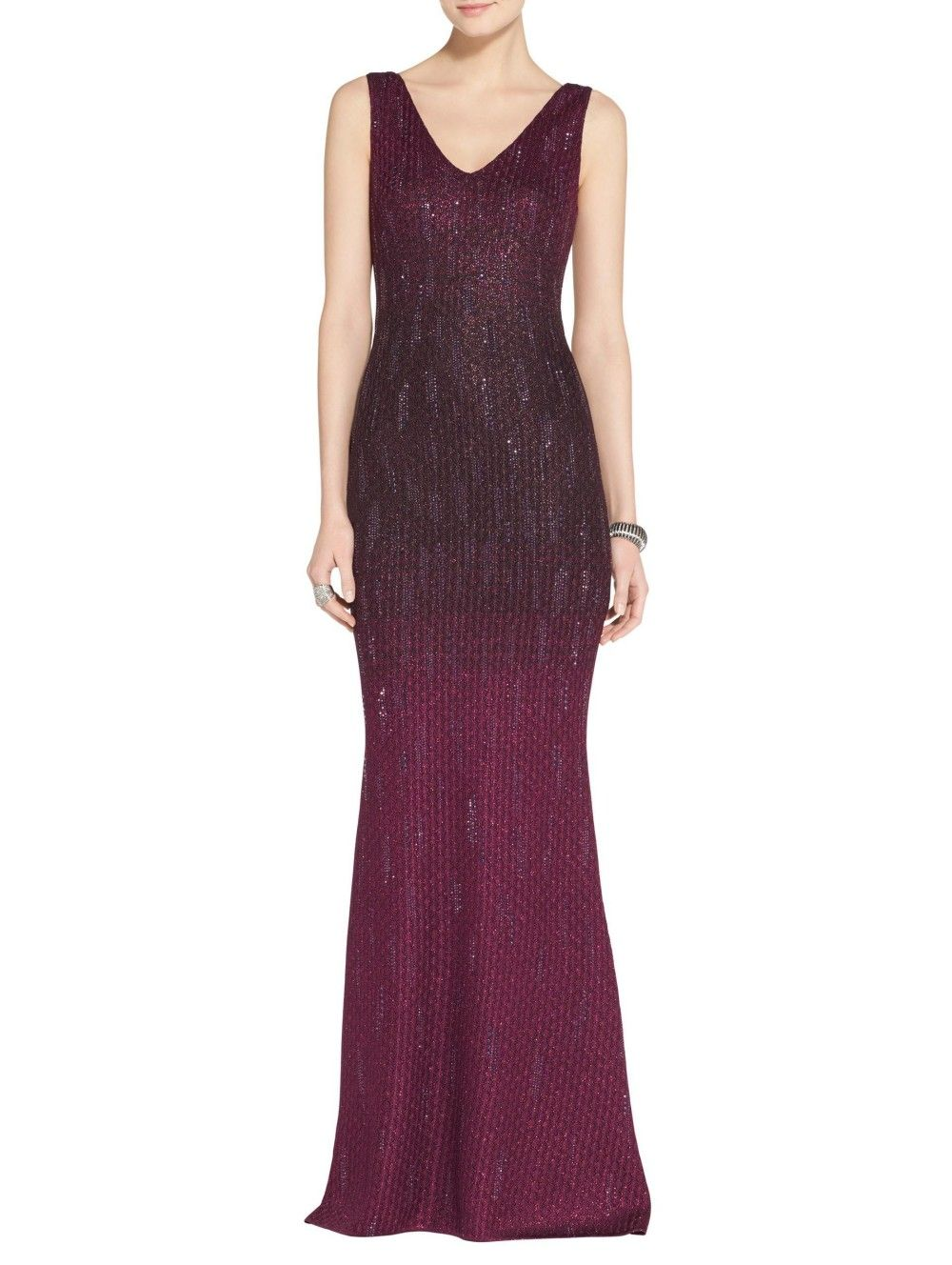 Kira Ombre Knit Gown   evening   Pinterest   Ombre, Gowns and ...