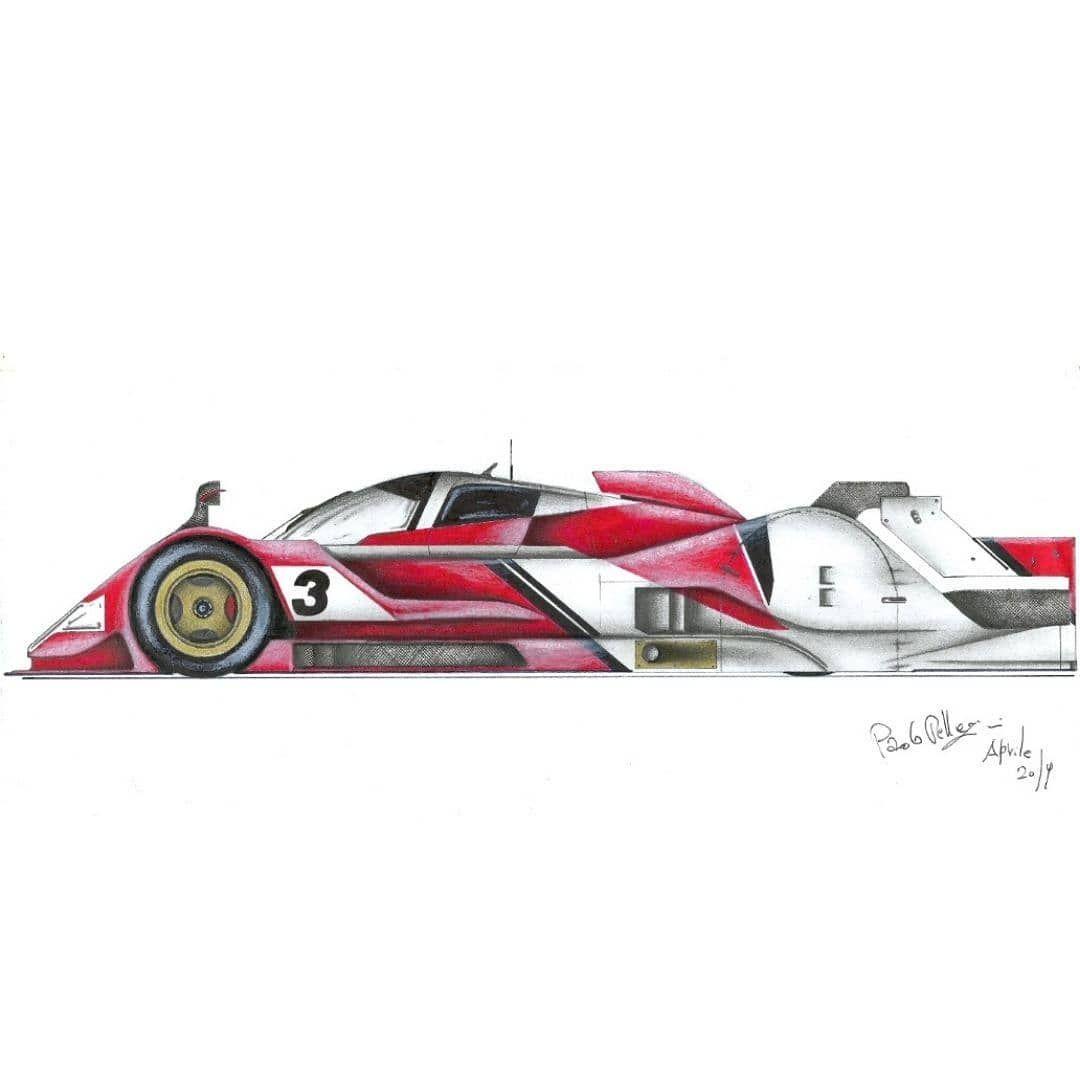 10 Likes 0 Comments Paolo Pellegrini Paolo Pell82 On Instagram Studio Di Vettura Prototipo Prototype Prototipo Lmp1 24ho Car Design Toy Car Racing
