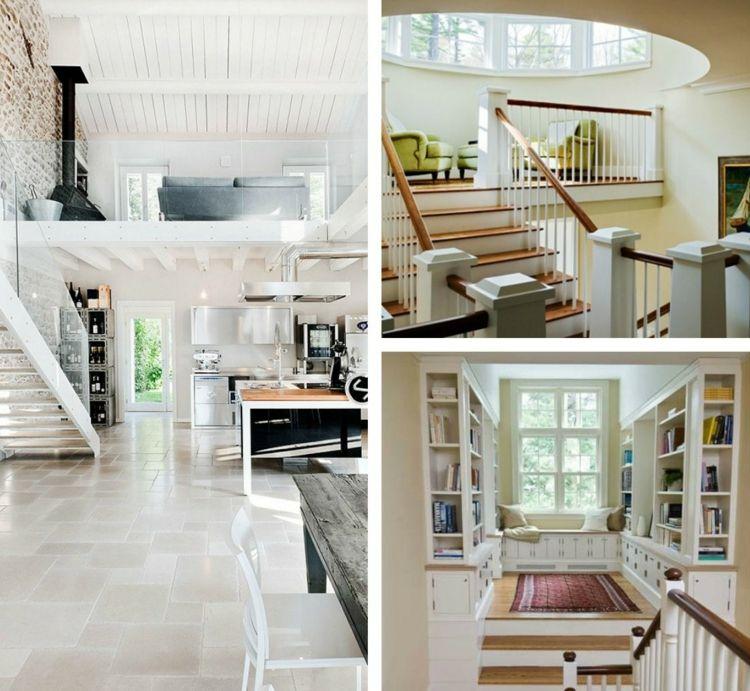 Escalier Gain De Place Et Idees Grande Hauteur Sous Plafond