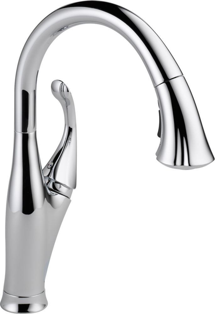 Addison Single Handle Pull Down Sprayer Kitchen Faucet In Chrome