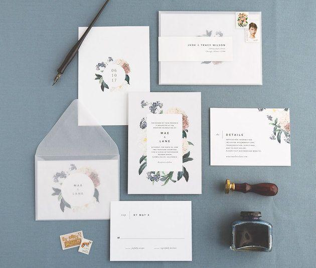 10 Hochzeit Einladungen, Die Sie Online Bestellen Können   Bestellen,  Einladungen, Hochzeit,