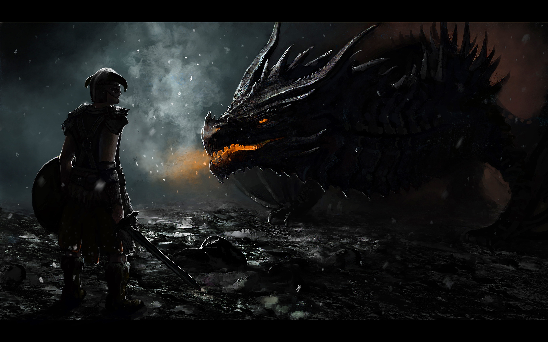 free download dragon skyrim wallpaper hd. | gaming paradise | elder