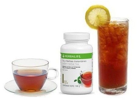 el te verde de herbalife adelgazar y tonificar