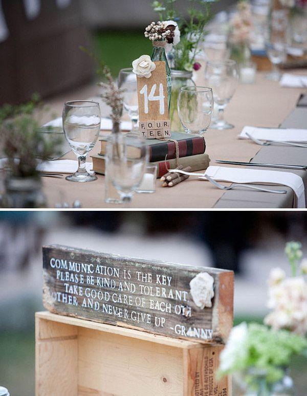 Decoraci n de boda r stica for Decoracion rustica para bodas