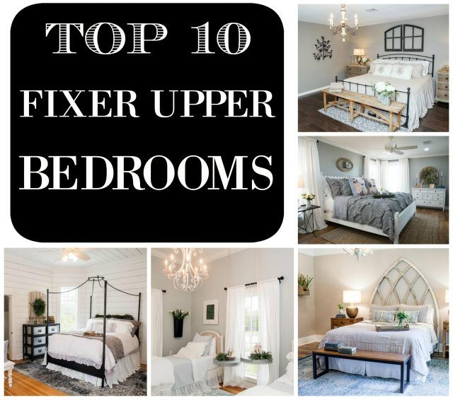 Top 10 fixer upper bedrooms by restoration redoux daily for Fixer upper bedroom designs