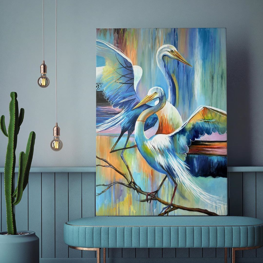 "WILD BRUSH Art on Instagram: ""..💟 Artwork name: Fidelity #wildbrushart . #abstract #acrylicpainting #paintingoftheday #wallartdecor #arte #painting #abstractartist…"""