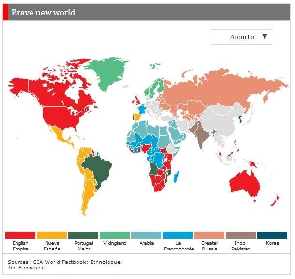 Linguistic imperialism | The world according to Putin | The Economist