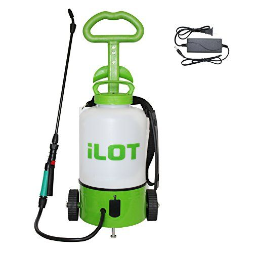 Ilot Electric 2 Gallon Sprayer On Wheels Trolley Rechargeable Garden Sprayer For Sale Mini Greenhouse Indoor Grow Lights Greenhouse Kit