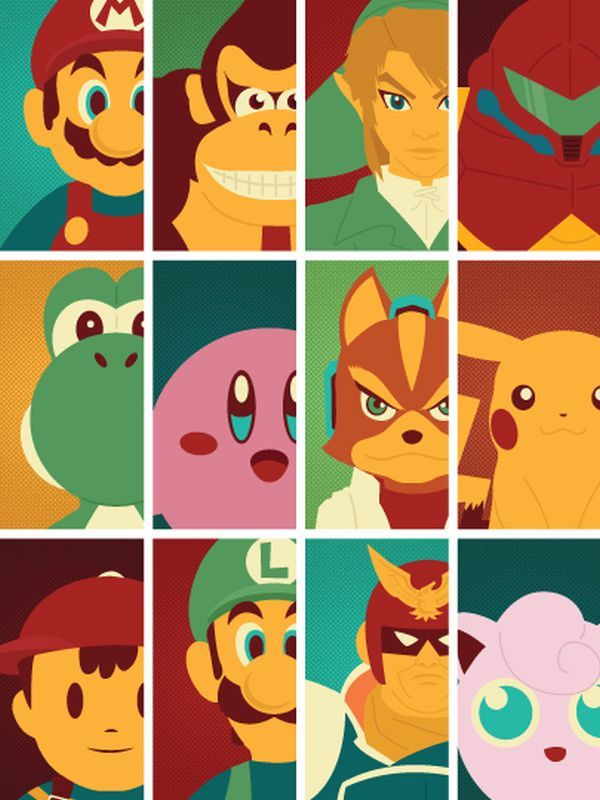 Video Game Character Illustrations | Childhood Memories ...