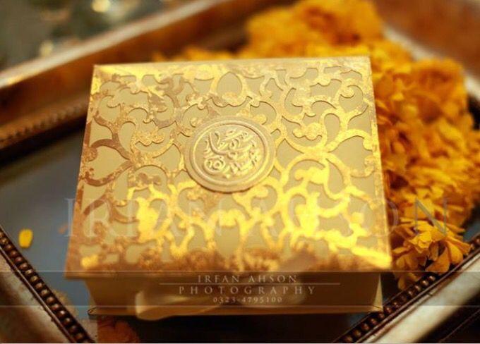 Most beautiful wedding invitation Quran e Kareem inside Amazed