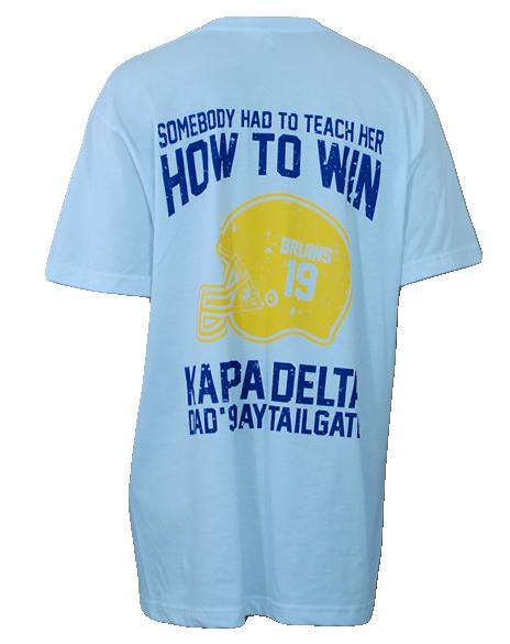 524a3c7fc Kappa Delta Dad's Day Tee by Adam Block Design | Custom Greek Apparel &  Sorority Clothes | www.adamblockdesign.com