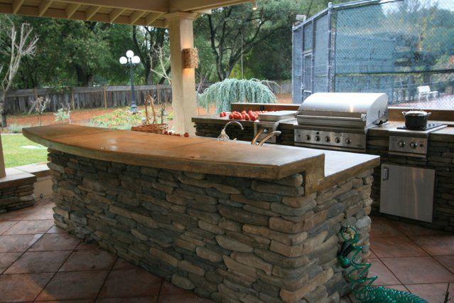 Better Landscape San Jose Ca Ideas Outdoor Kitchens Backyard Bar Outdoor Kitchen Outdoor Kitchen Countertops