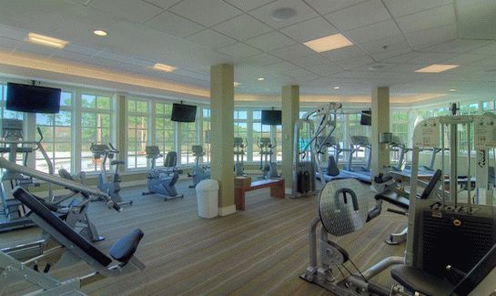 Bay Forest At Bethany Beach Private Community In Ocean View De The Gym