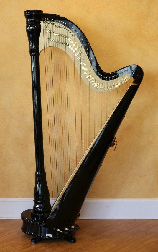 Camac Athena EX Ebony (Pre-owned) - Atlanta Harp Center LLC