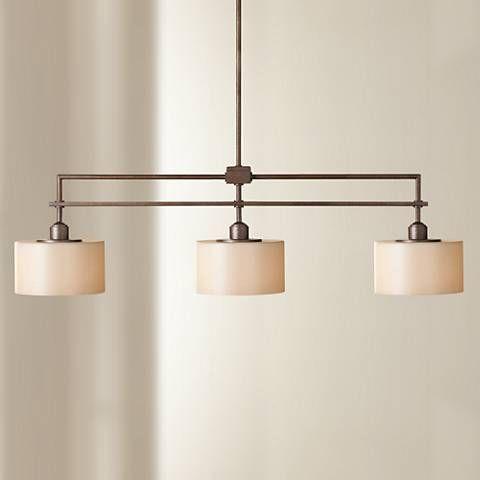 Sunset drive collection 3 light island chandelier k5019 lamps plus