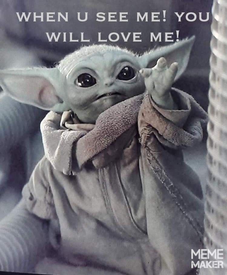 Pin By Amanda Janik On Baby Yoda Memes In 2020 Funny Star Wars Memes Yoda Wallpaper Yoda Images